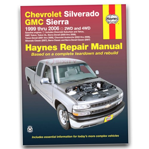 small resolution of haynes repair manual for chevy silverado 1500 hd lt base ls shop service lb