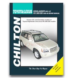 details about lexus rx300 chilton repair manual base shop service  [ 1200 x 1200 Pixel ]
