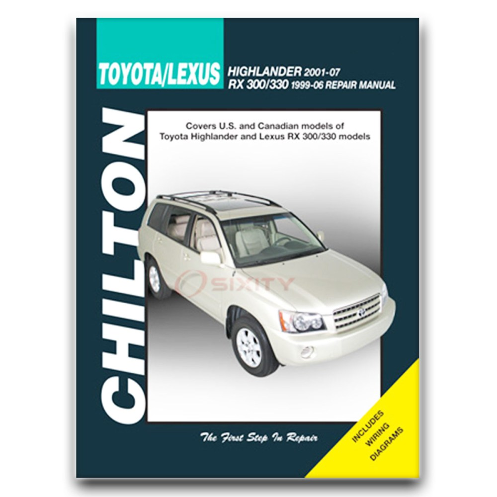 medium resolution of details about lexus rx300 chilton repair manual base shop service