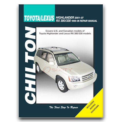 small resolution of details about lexus rx300 chilton repair manual base shop service