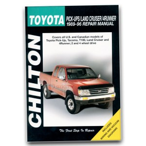 Toyota 4Runner Chilton Repair Manual SR5 Base Limited DLX