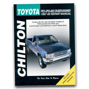 Toyota 4Runner Chilton Repair Manual SR5 Limited Base Shop
