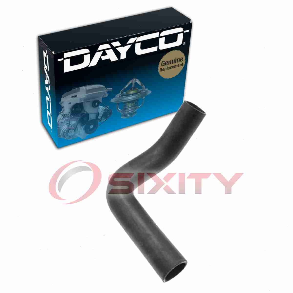 details about dayco lower radiator hose for 1962 buick skylark engine coolant heating vn [ 1200 x 1200 Pixel ]