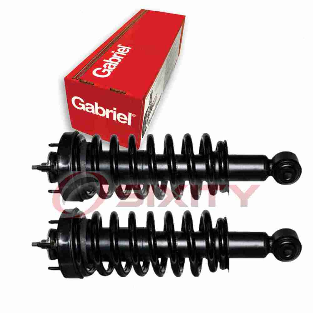 medium resolution of in 1907 gabriel invented the original shock absorber followed by the first hydraulic shock absorber the first adjustable shock absorber and the first air