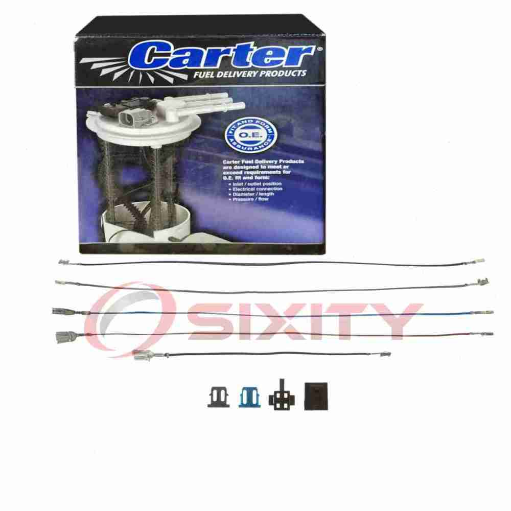medium resolution of details about carter fuel pump wiring harness for 1985 1994 chevrolet s10 blazer 2 5l l4 sf