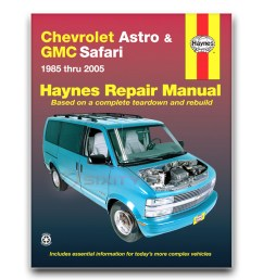 haynes repair manual 24010 for chevrolet astro gmc safari mini van astro van engine diagram astro van wiper wiring diagram [ 1200 x 1200 Pixel ]
