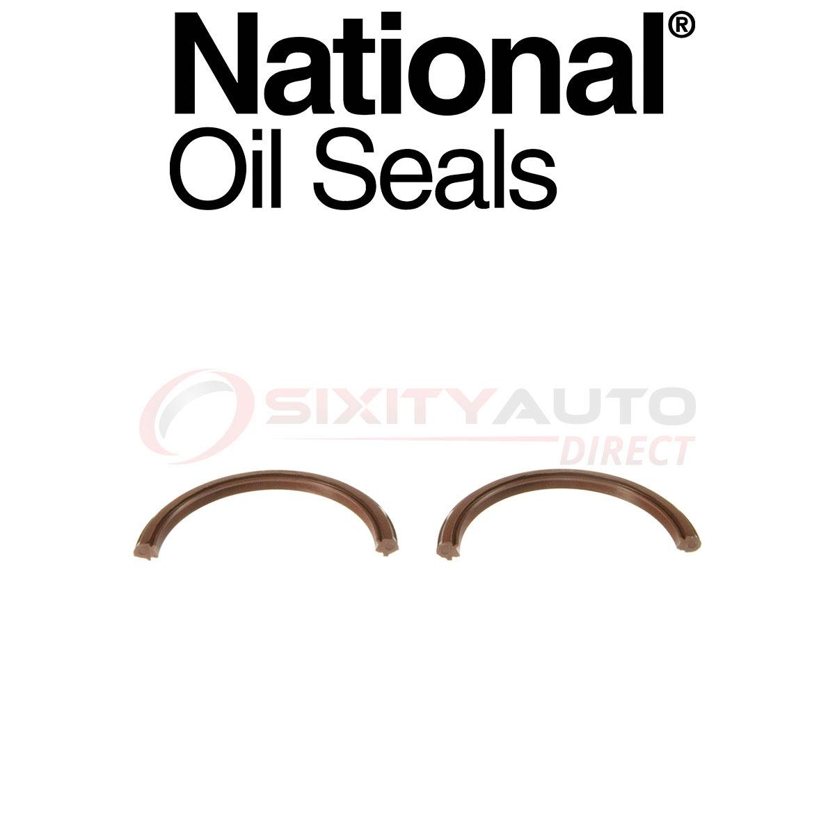 National Crankshaft Seal For Gmc G 6 2l V8