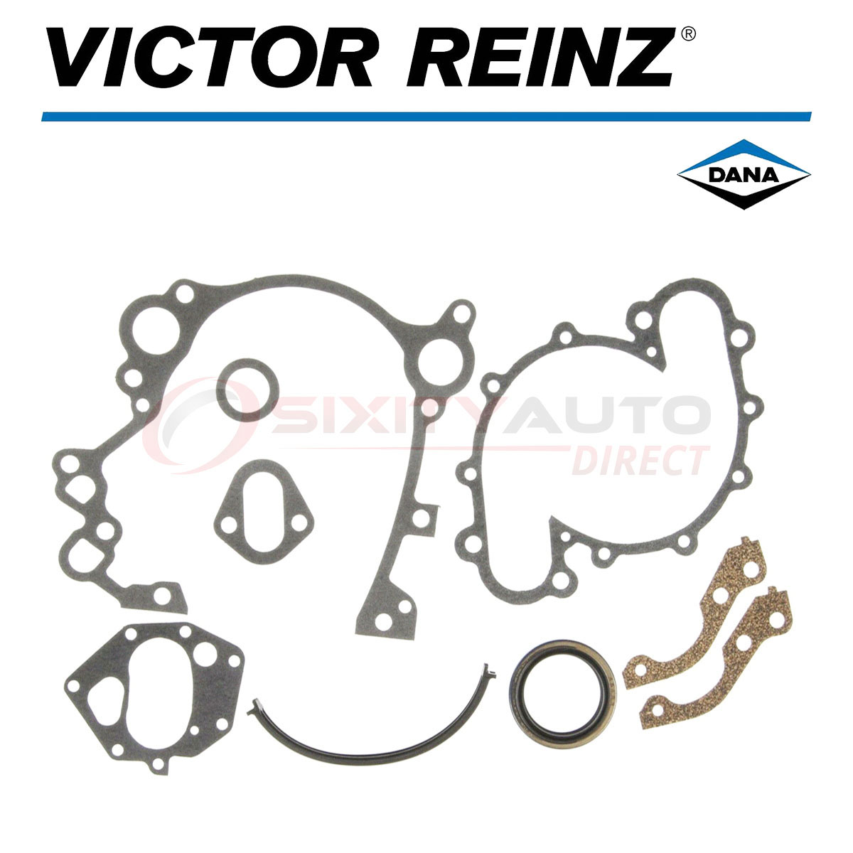 Victor Reinz Timing Cover Gasket Set For Jeep