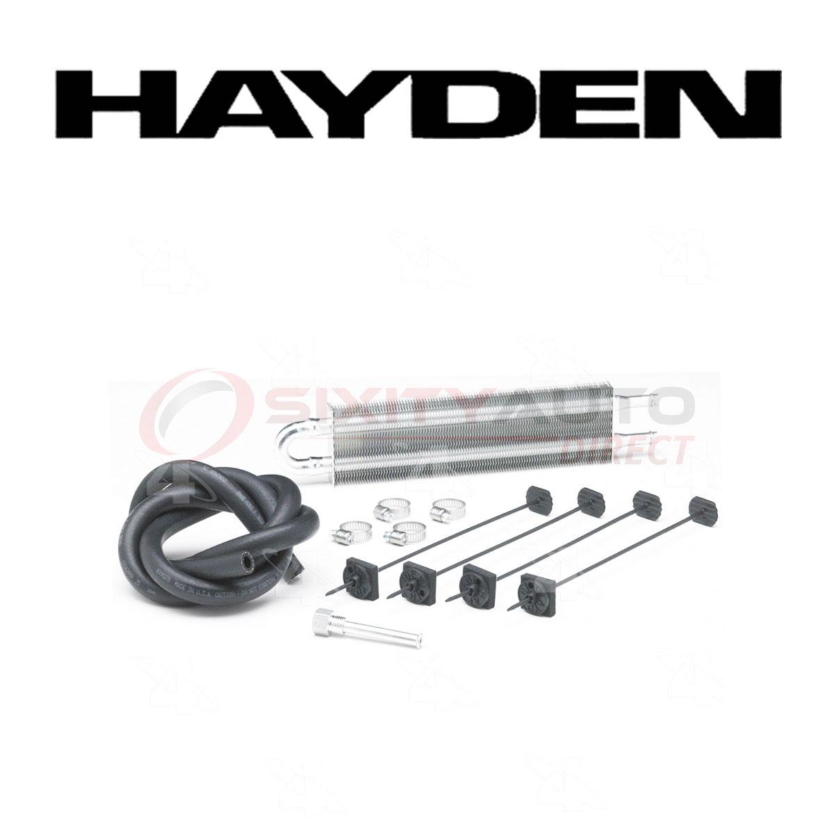 Hayden Power Steering Oil Cooler for 2006-2012 Chevrolet