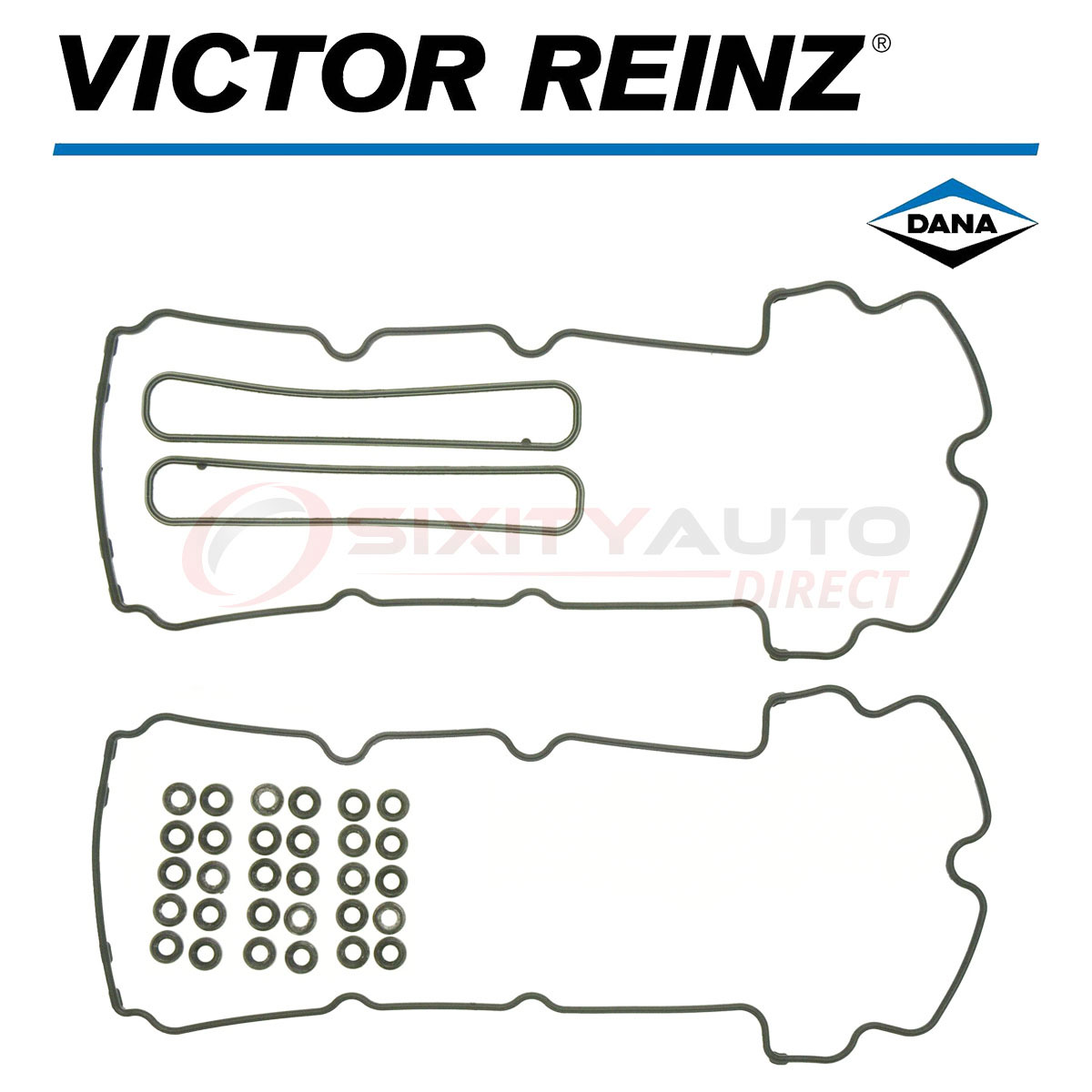 Victor Reinz Valve Cover Gasket Set for 2000-2002 Jaguar S