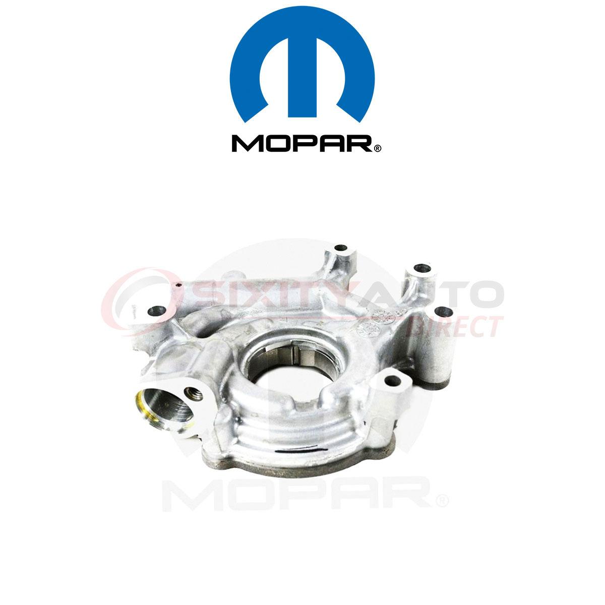 Mopar Engine Oil Pump for 2007-2009 Chrysler Aspen 4.7L V8