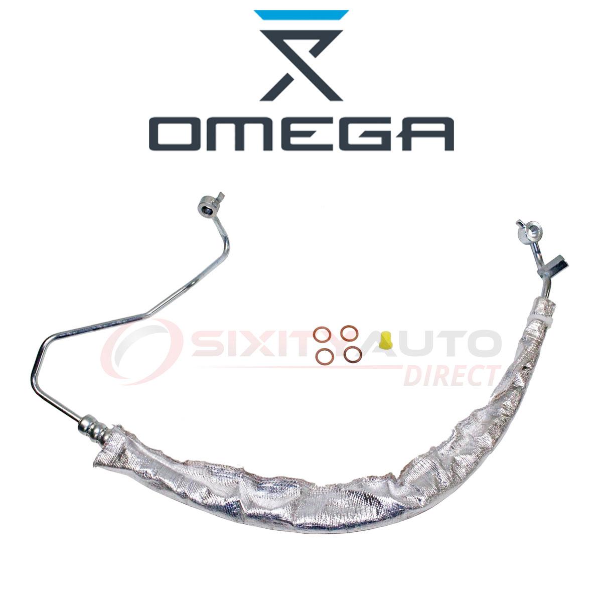 Omega Power Steering Pressure Line Hose For