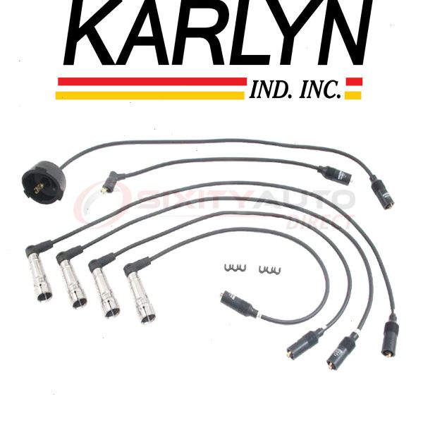 Karlyn Spark Plug Wire Set for 1982-1989 Alfa Romeo Spider