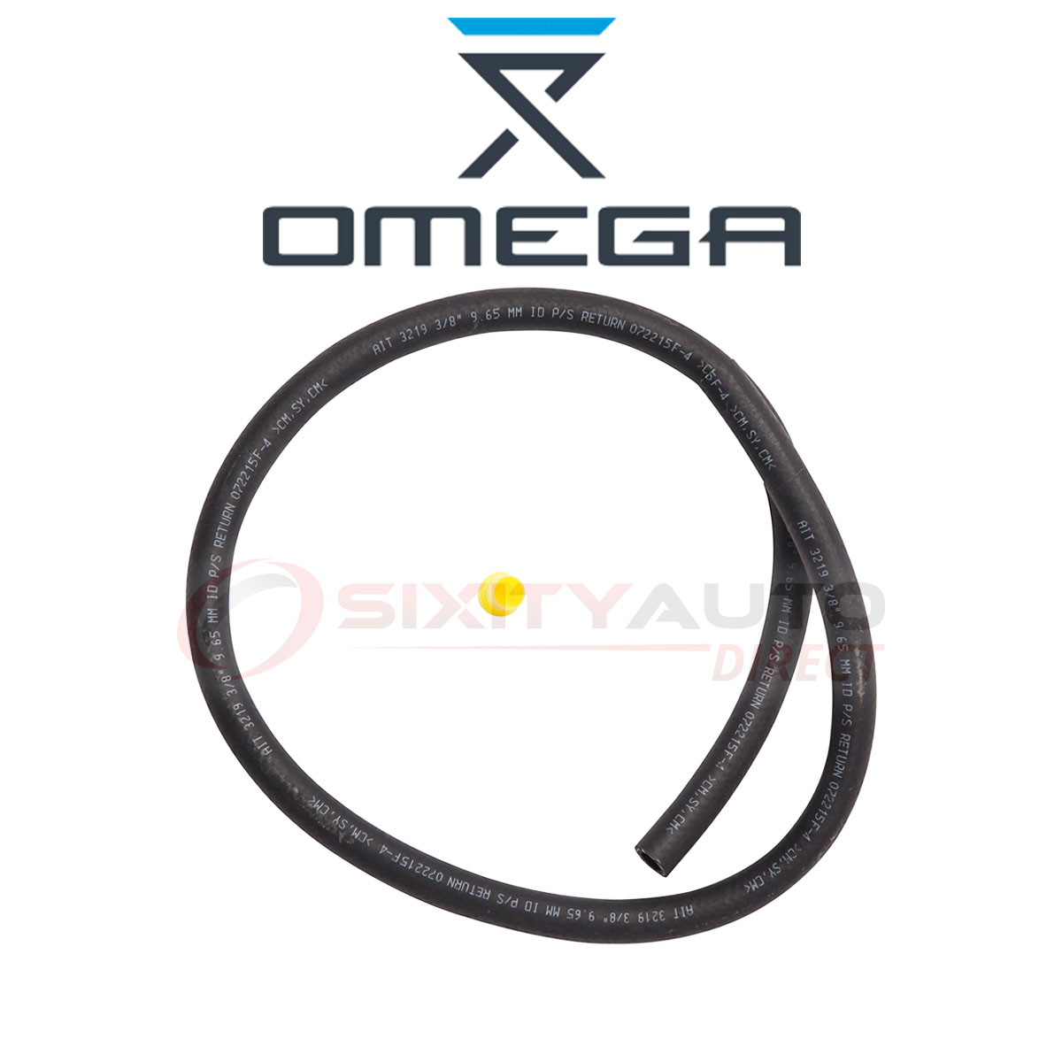 Omega Power Steering Return Hose for 1988-1993 Dodge