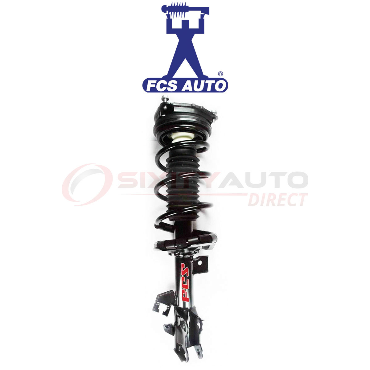 FCS Suspension Strut & Coil Spring Assembly for 2009-2014