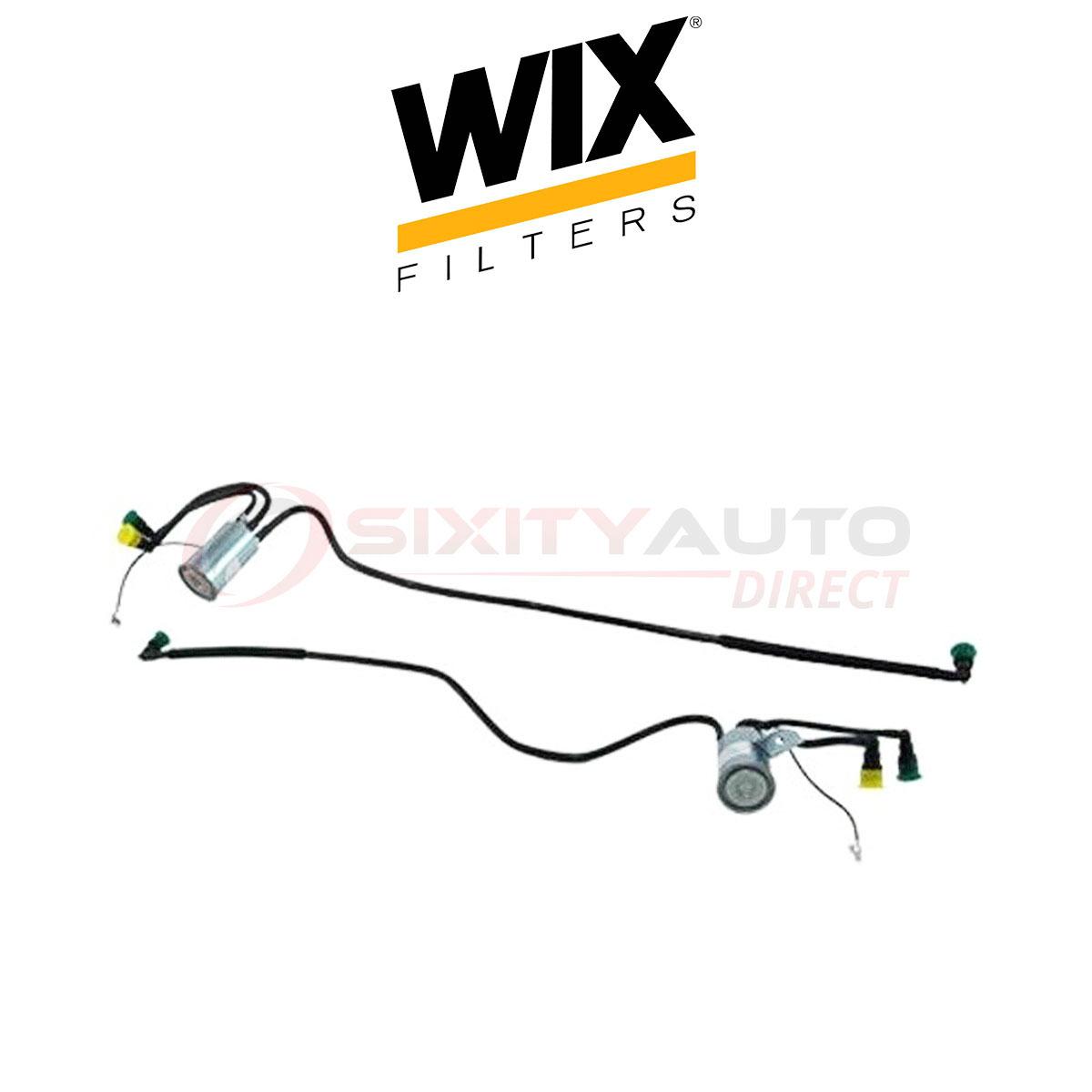 Wix Fuel Filter For Chrysler Grand Voyager 3 0l