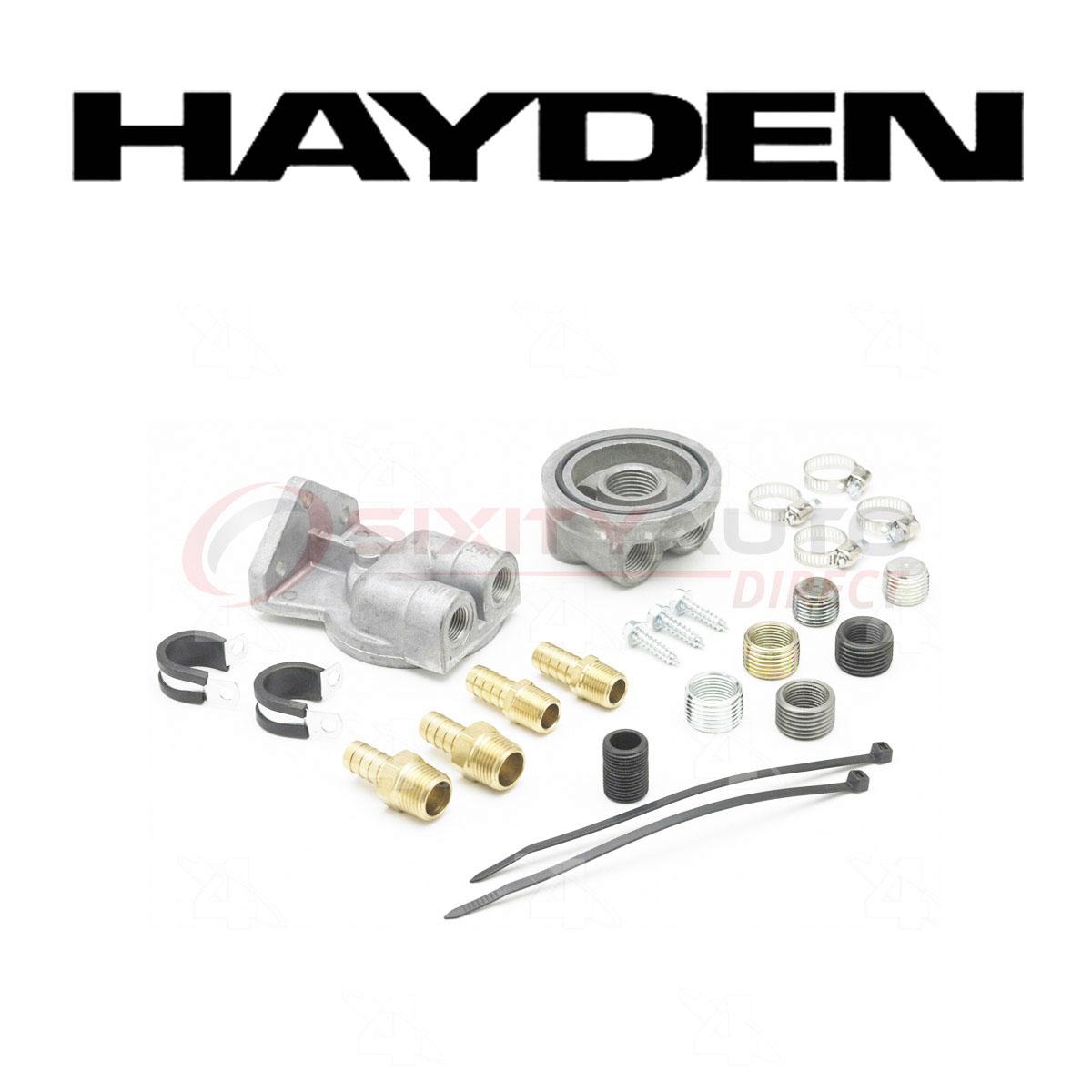 Hayden Oil Filter Remote Mounting Kit for 2000-2015