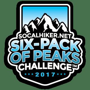 The SoCalHiker.net Six-Pack of Peaks Challenge - 2017
