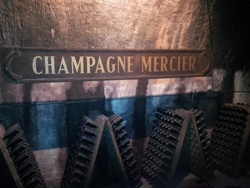 Kelder Champagne Mercier