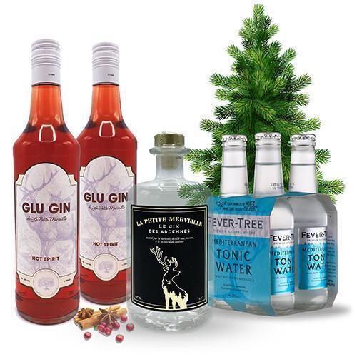 kerstcadeau met gin
