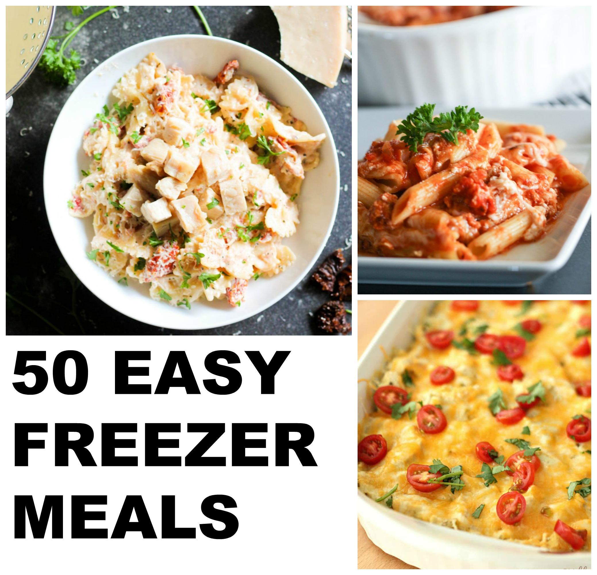 easy freezer meal recipes