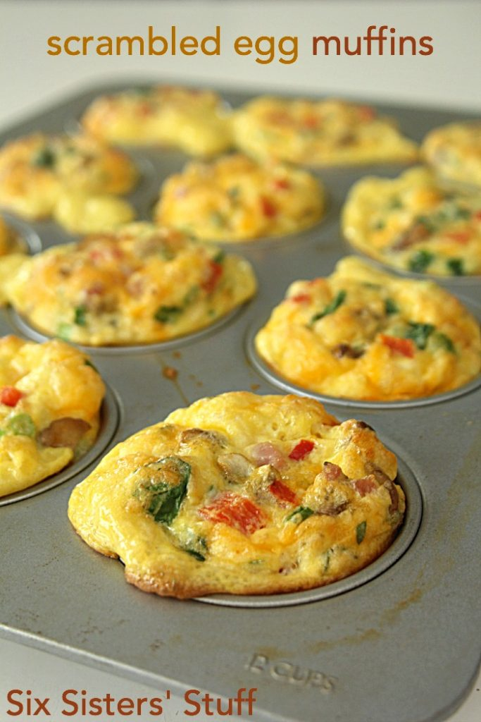 egg muffins make the perfect breakfast muffin