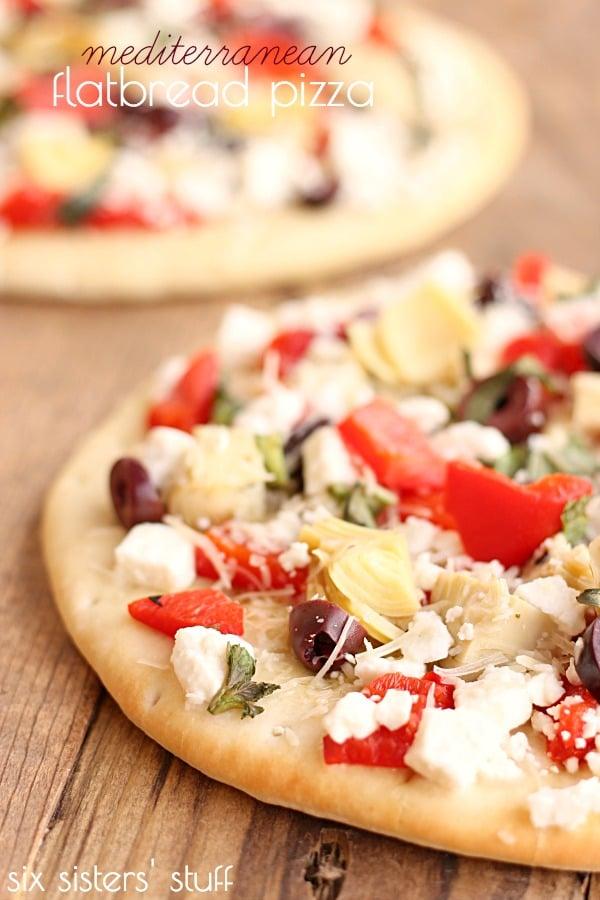 Keto Mediterranean Pizza