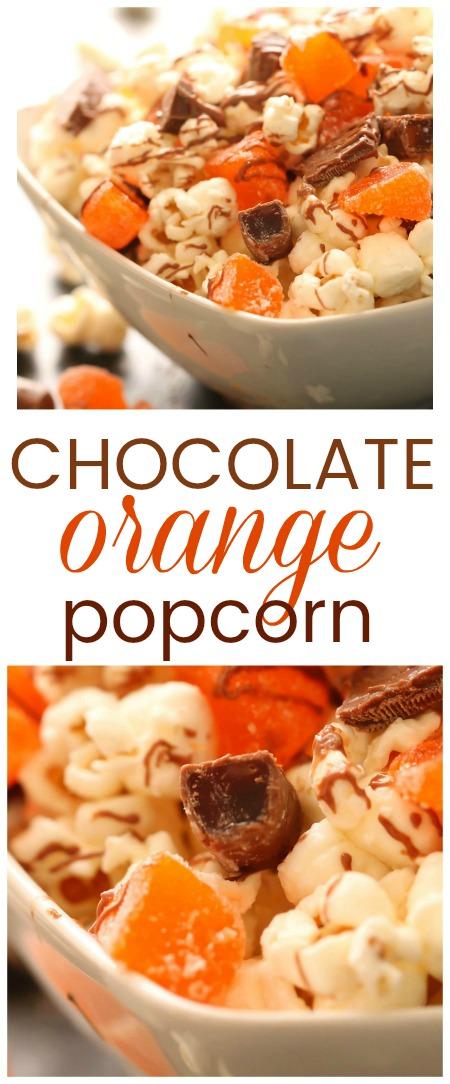 Chocolate Orange Popcorn Six Sisters Stuff