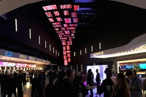 Projects: 40-Screen Flying Video Wall Switches On At Southampton, UK Cinema