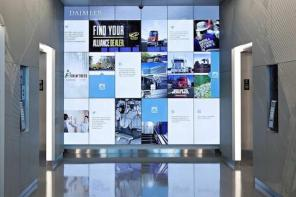 Projects: Daimler Trucks' New HQ Includes 59-wide Wrap-Around Video Wall
