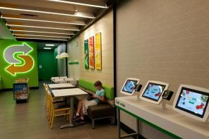 Here's A Look At Subway's New Self-Service Order Kiosks