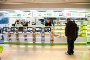 UK Sushi Chain Changes Up Menuboard Approach With Super-Stretched Displays