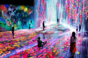 Stunning, All Projection-Mapped Digital Museum Opens In Tokyo