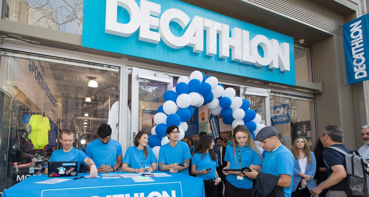 9fc114def Sports Retailer Decathlon s First US Store Features LED Video Wall ...