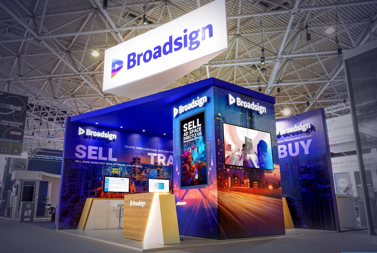 Broadsign at dse 2020