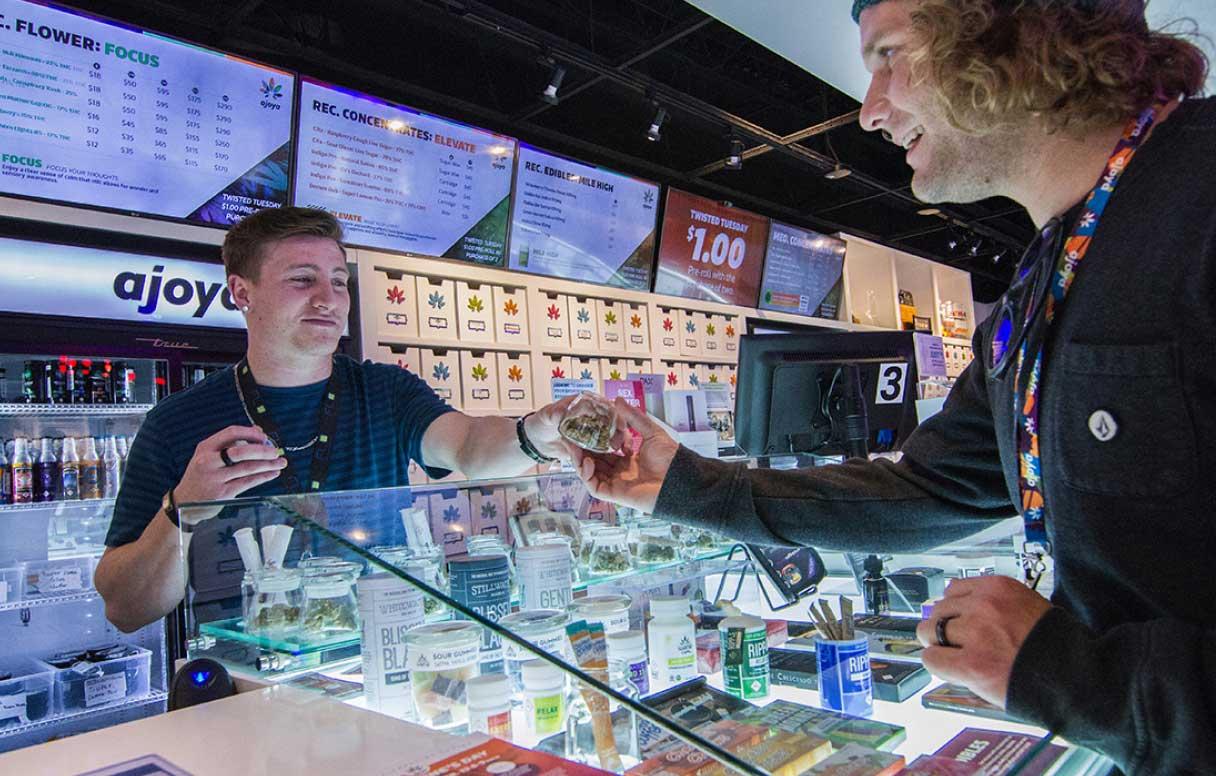 cannabis retailing