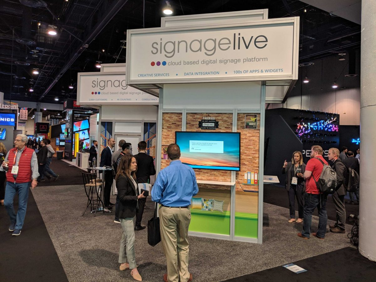 signagelive booth