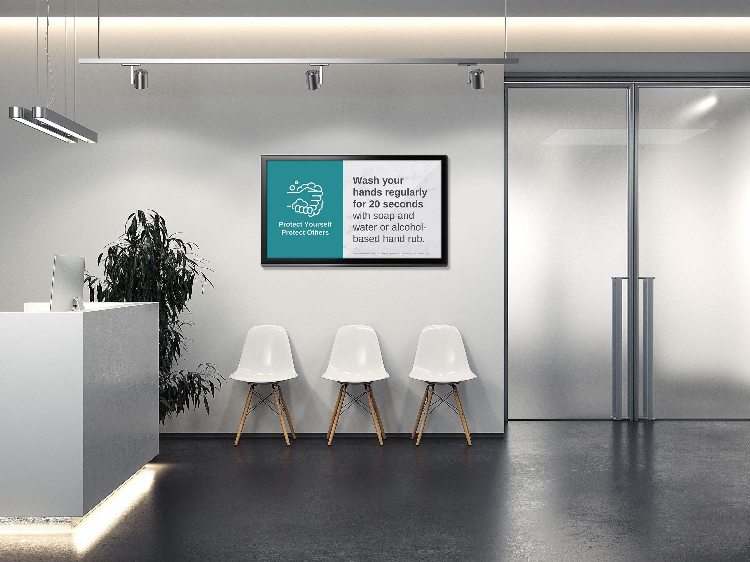 Carousel digital signage