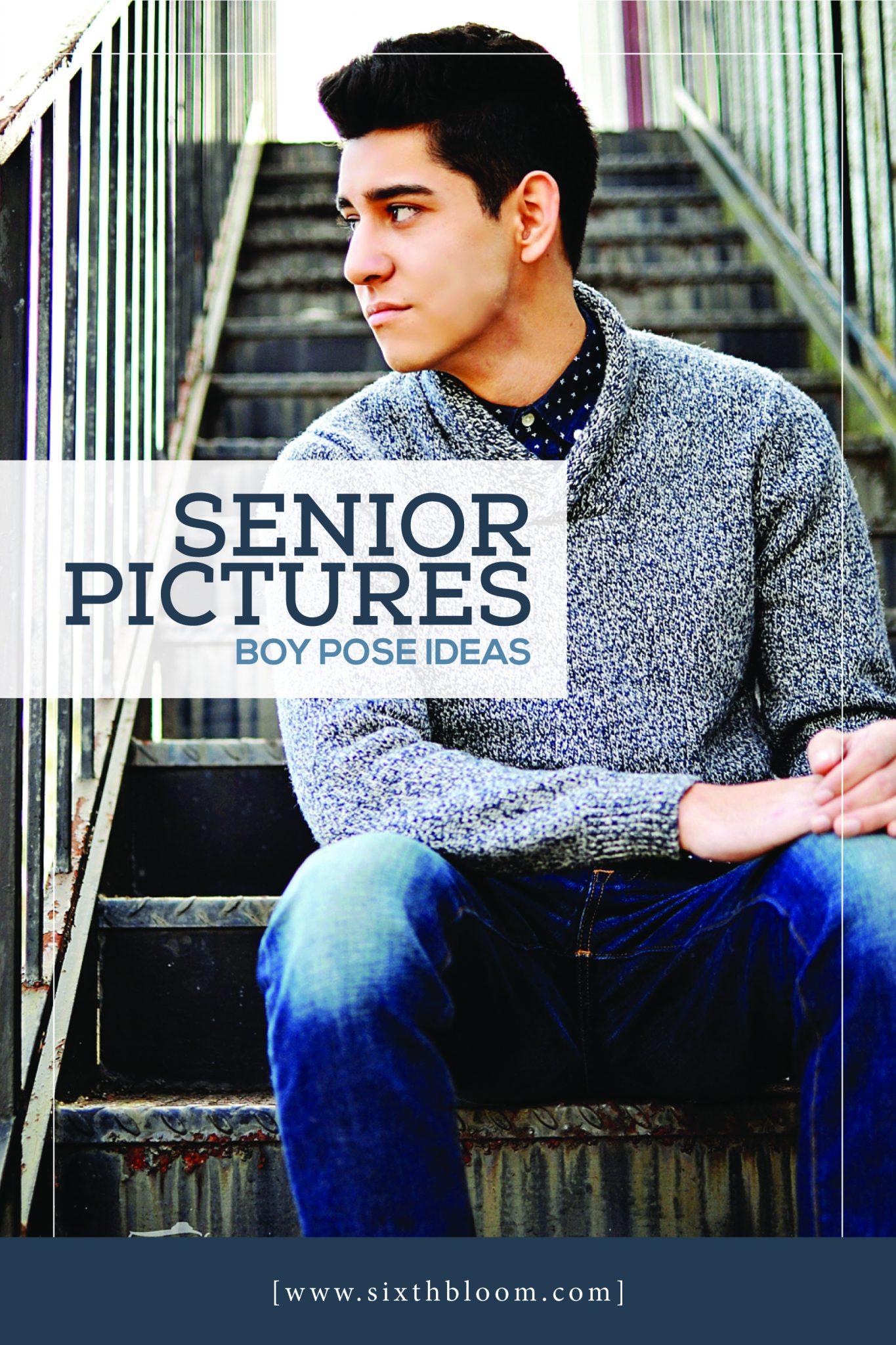 senior guys posing guide