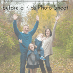 tips for parents before a photo shoot