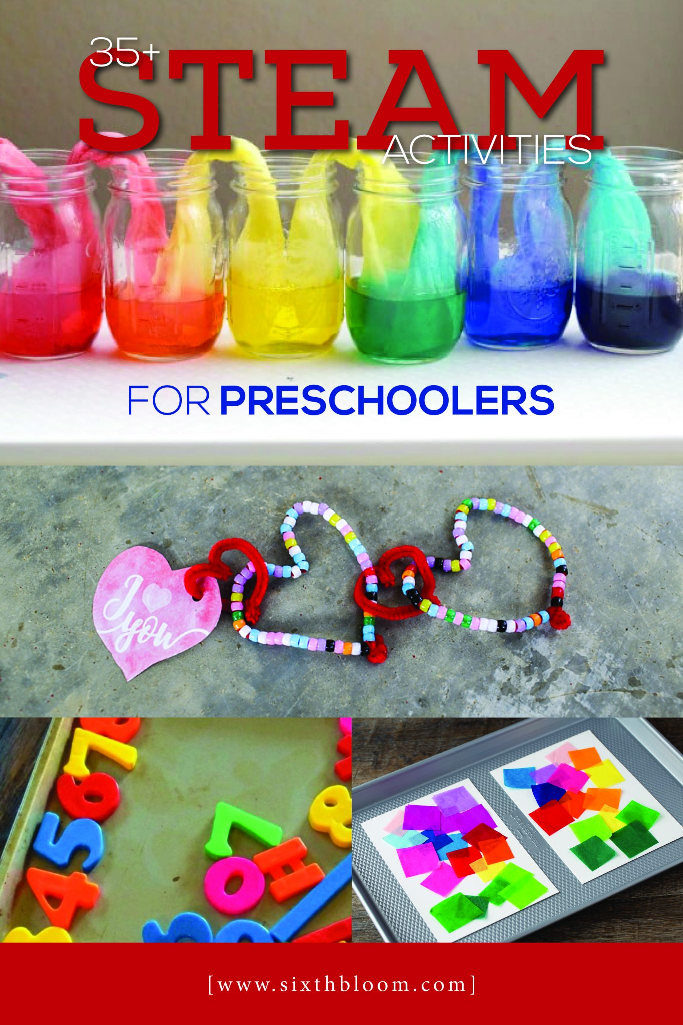 35 Steam Activities For Preschoolers