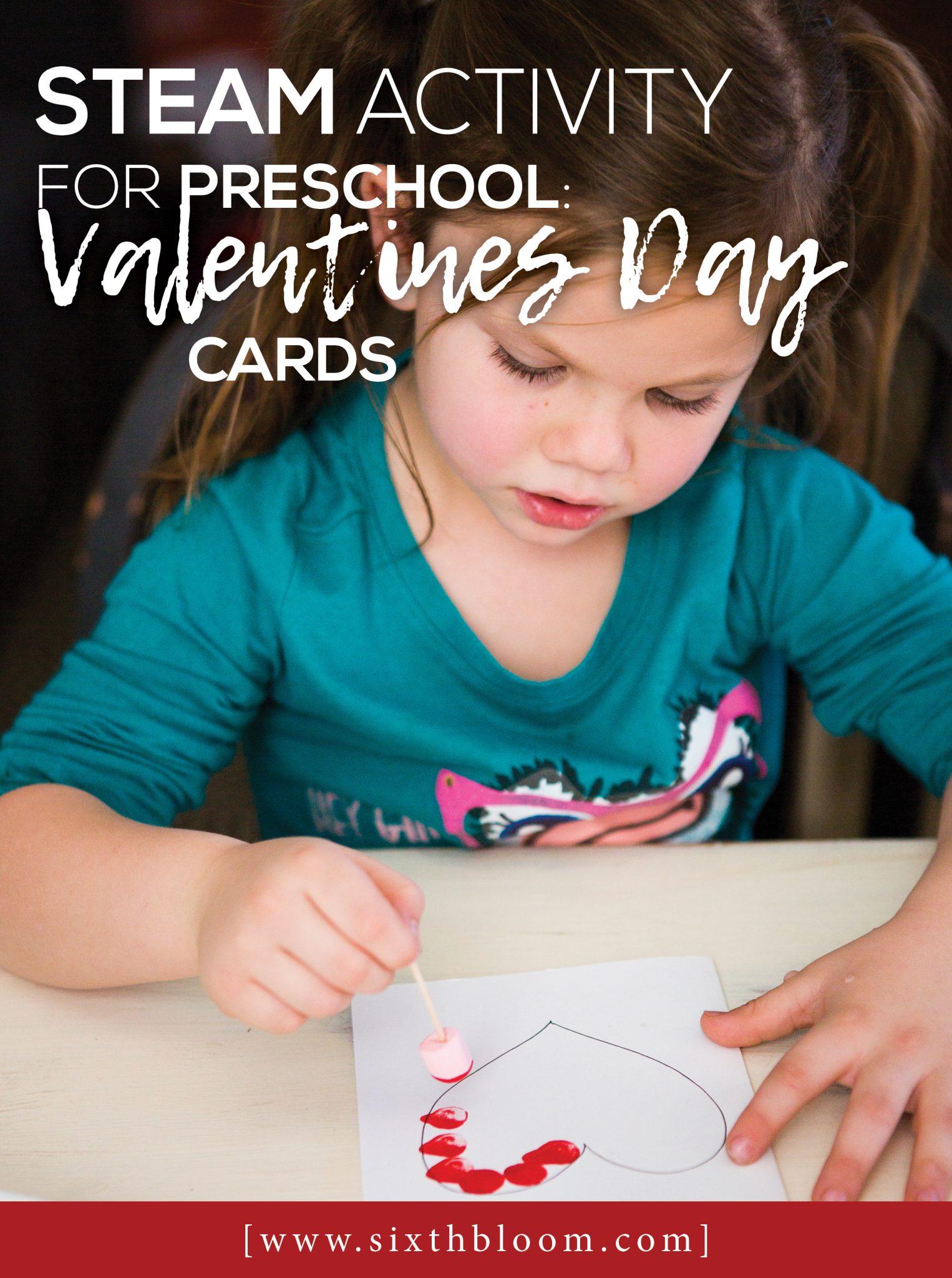 Steam Activities For Preschoolers Valentines Day Cards