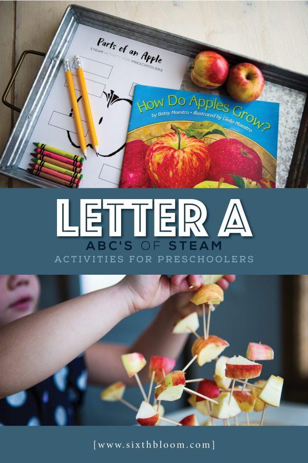 Letter - Abc Preschool Steam Activities Sixth Bloom