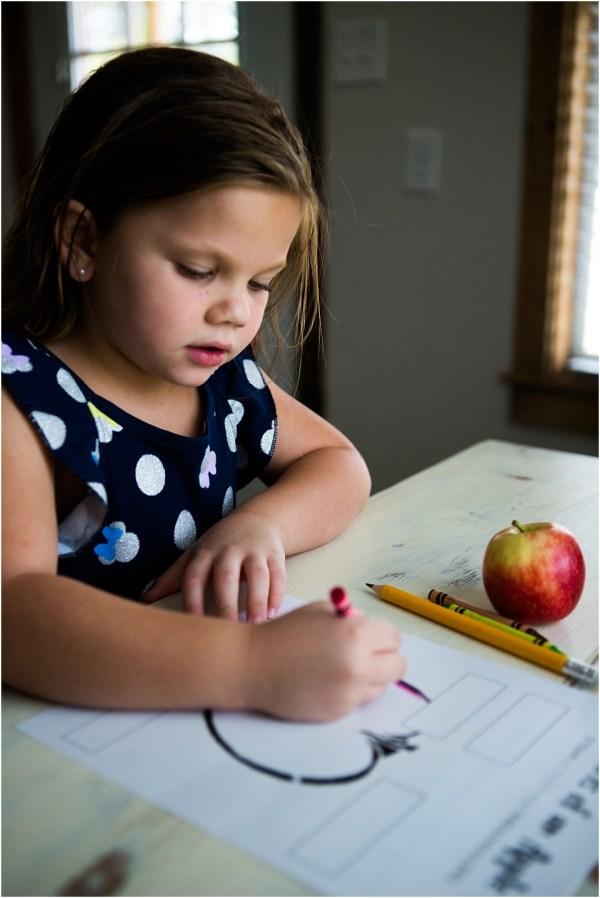 Preschool Apple Science Worksheet - Sixth Bloom- Lifestyle