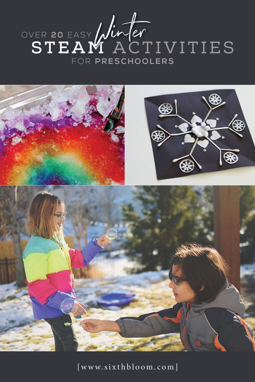 Over 20 Easy Winter Steam Activities For Preschoolers