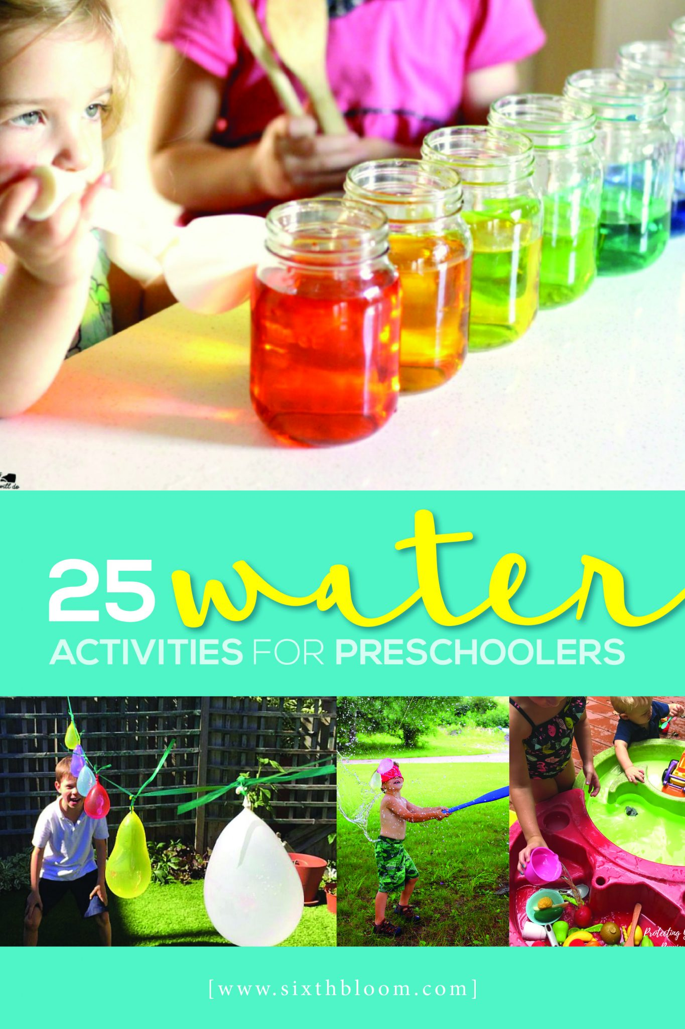 25 Water Activities For Preschoolers