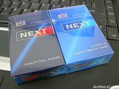Image result for next cigarettes