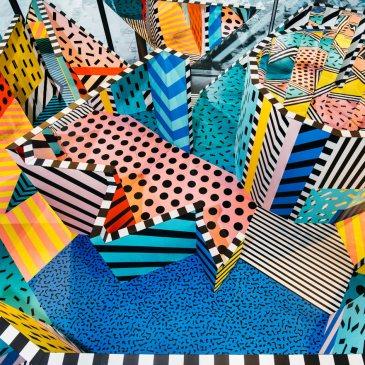 Walala X Play interactive installation by Camille Walala