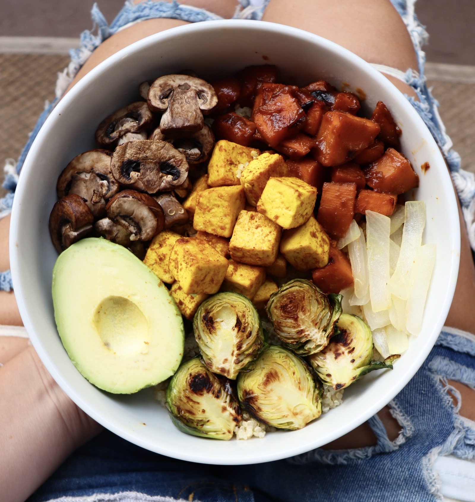 Loaded Veggie & Tofu Bowl