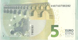 5 Euro Arka Yüzü